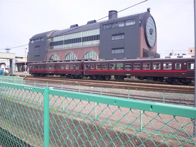 真岡駅構内