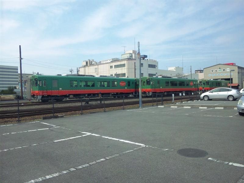 真岡鐵道 車庫