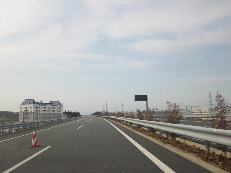 北関東道 真岡付近