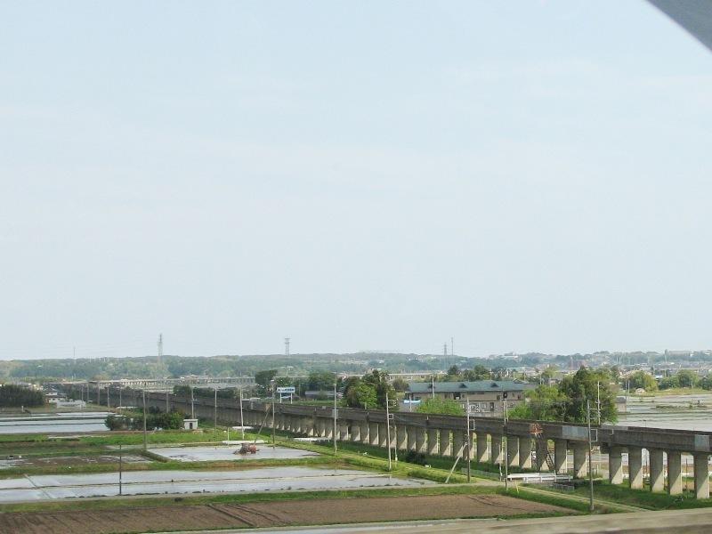 大洗鹿島線の高架橋