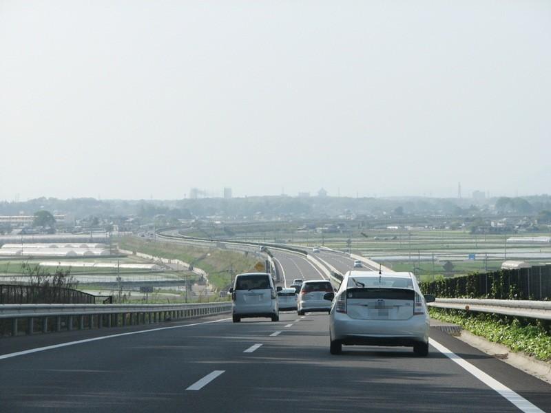 関東平野のど真ん中