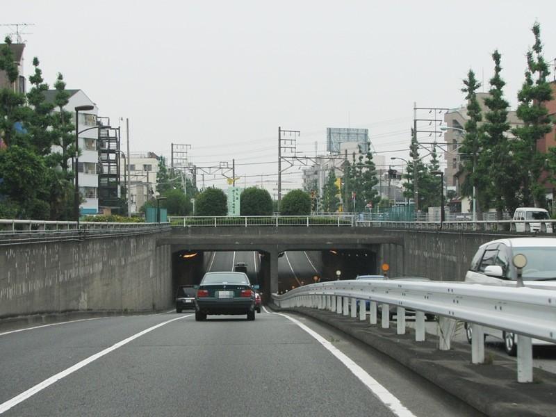 大田区東矢口2丁目付近