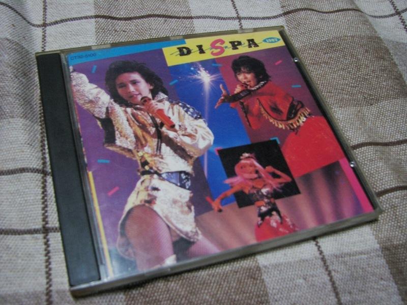 本田美奈子. DISPA1987 ライブ盤