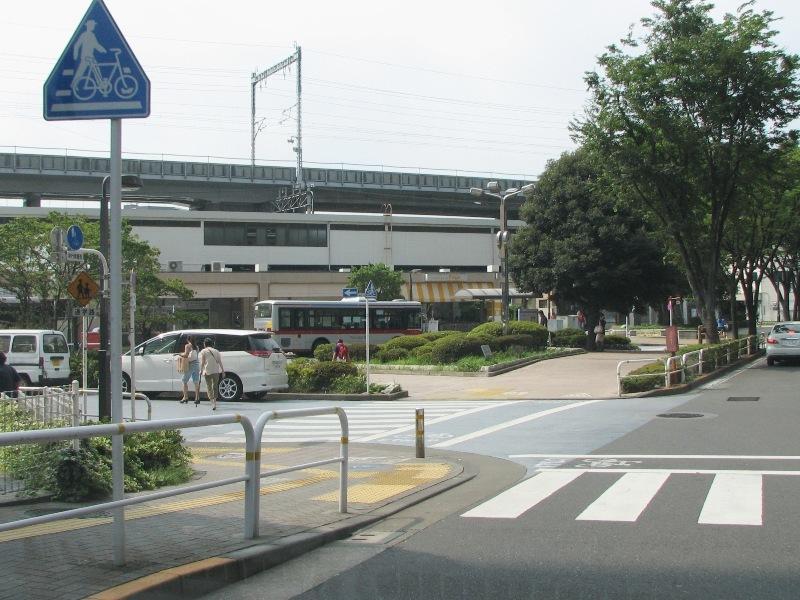 JR西大井駅前