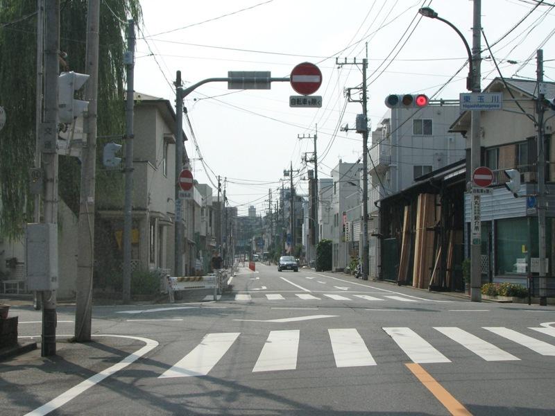 奥沢駅入口