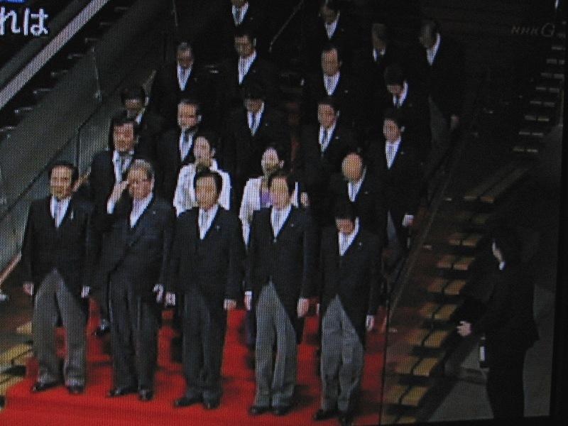 野田新内閣誕生