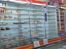 空っぽの惣菜棚