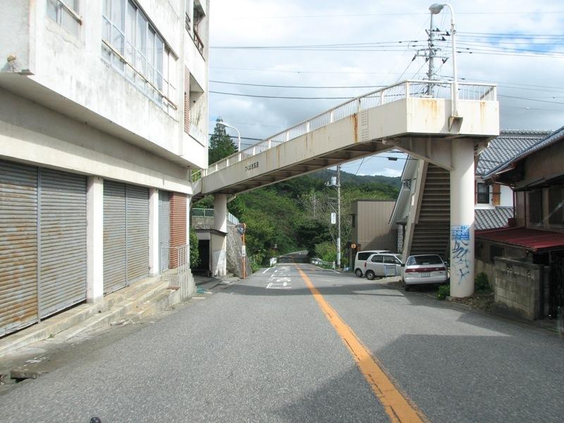 つくば市筑波 歩道橋