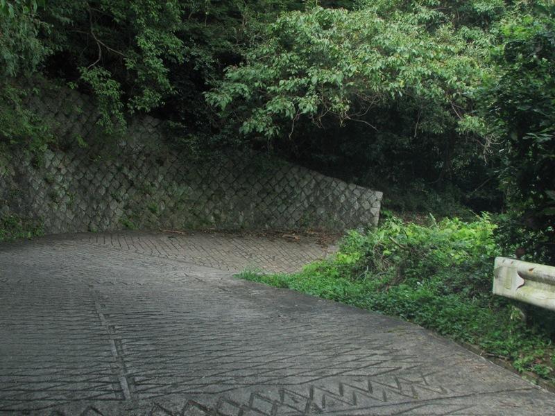 コンクリートの路面