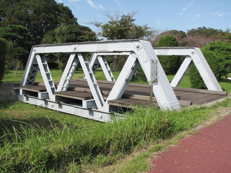 明治時代の江戸川鉄橋