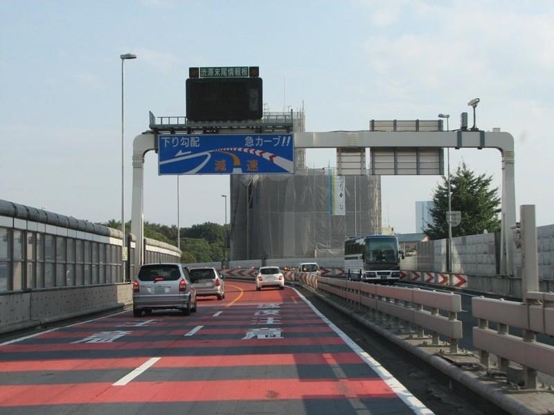 参宮橋付近