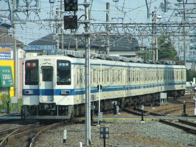 東武8000系準急