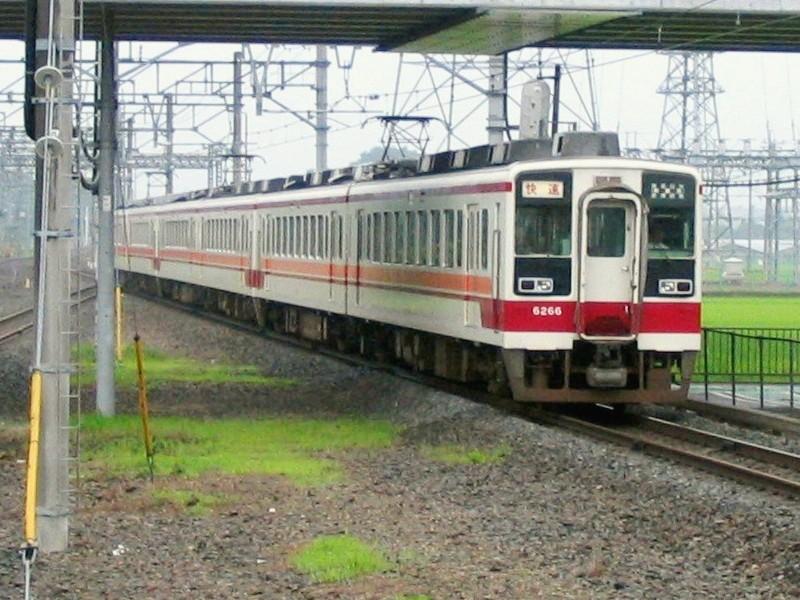 東武6050系快速