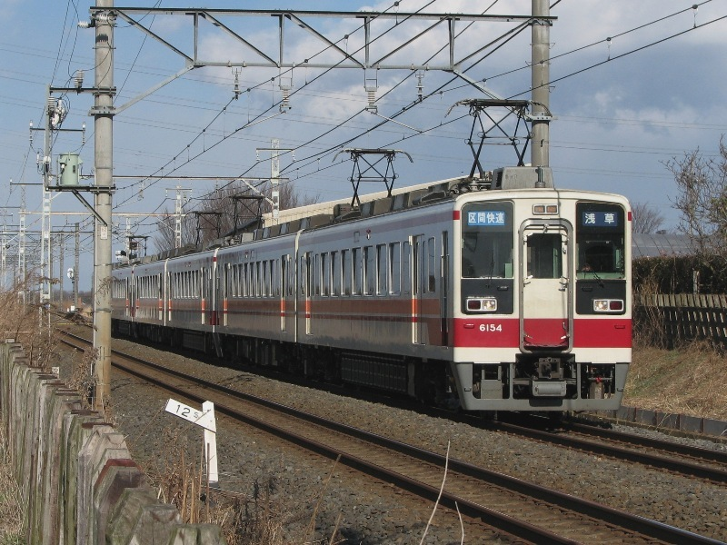 東武6050系区間快速