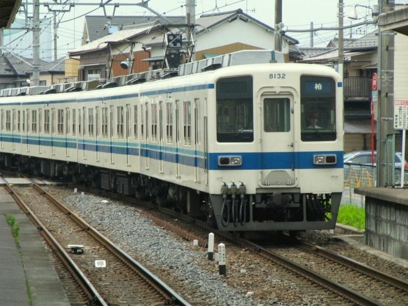 東武8000系 幕式