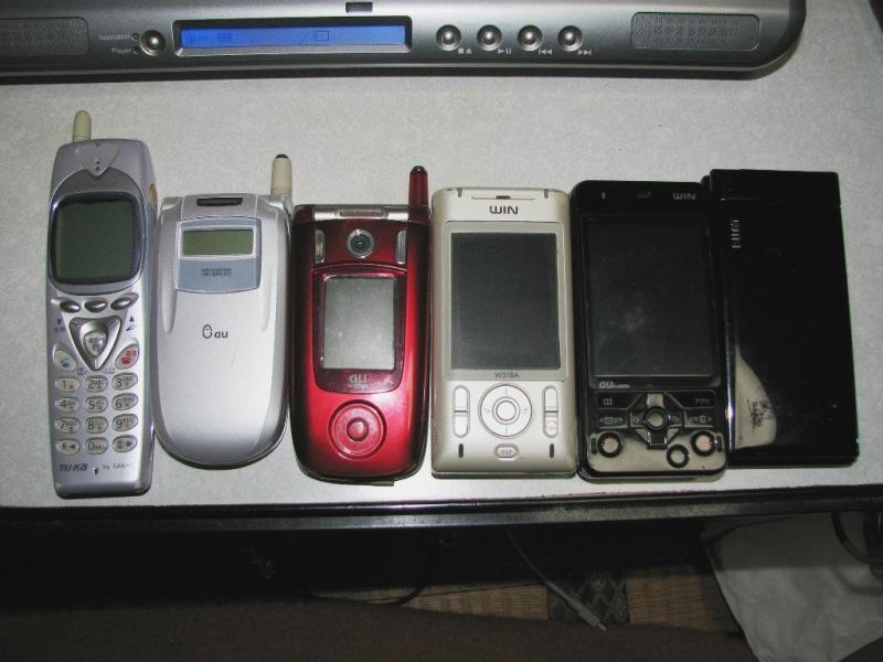 SANYO製の携帯電話