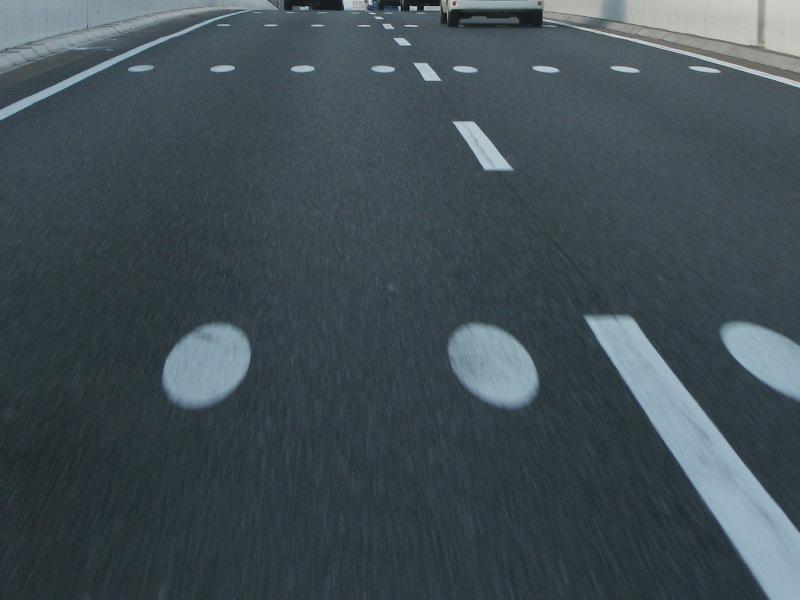 走行支援型路面デザイン
