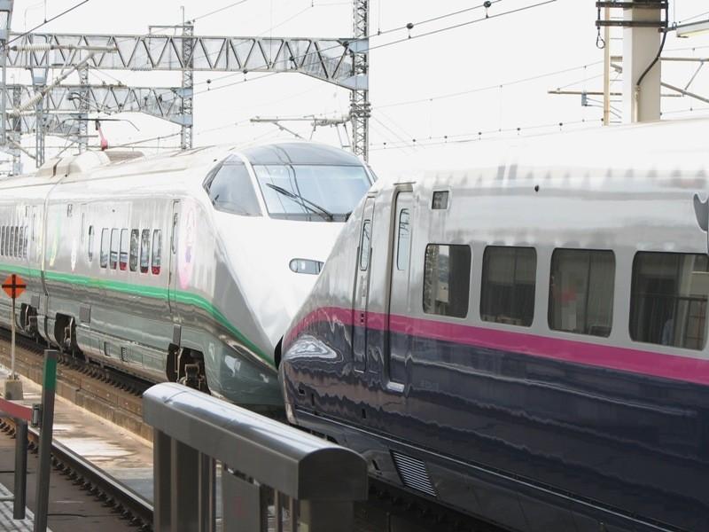 E2系1000番台とE3系2000番台車