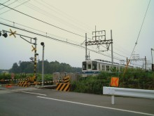 昔の清水公園駅付近