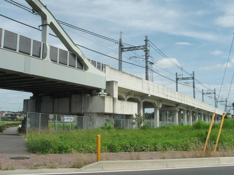 清水公園駅付近