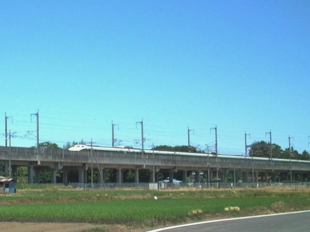 昔の東北新幹線