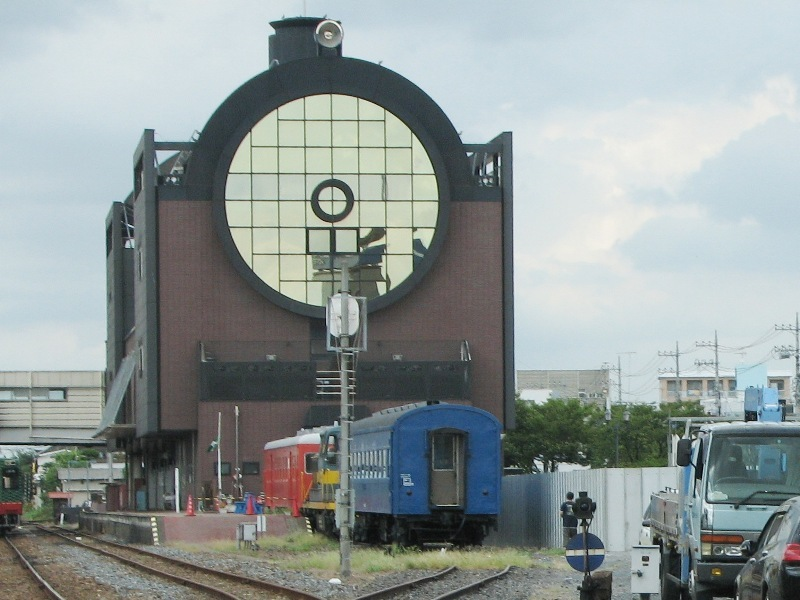 SL風駅舎