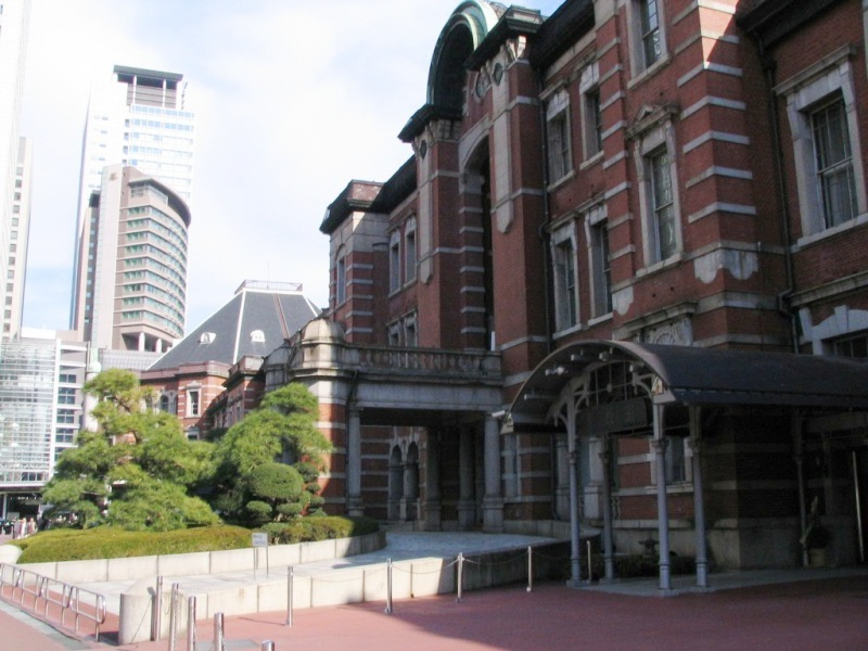 復元前の東京駅