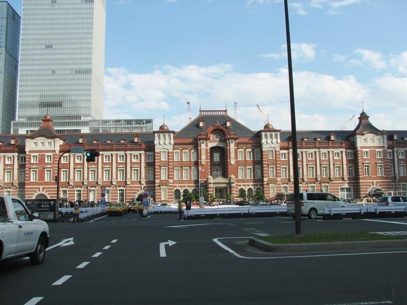 復元された東京駅