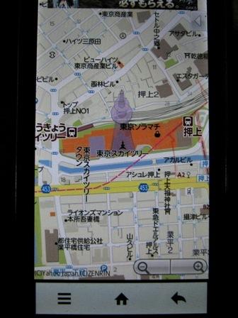 東京スカイツリー周辺図