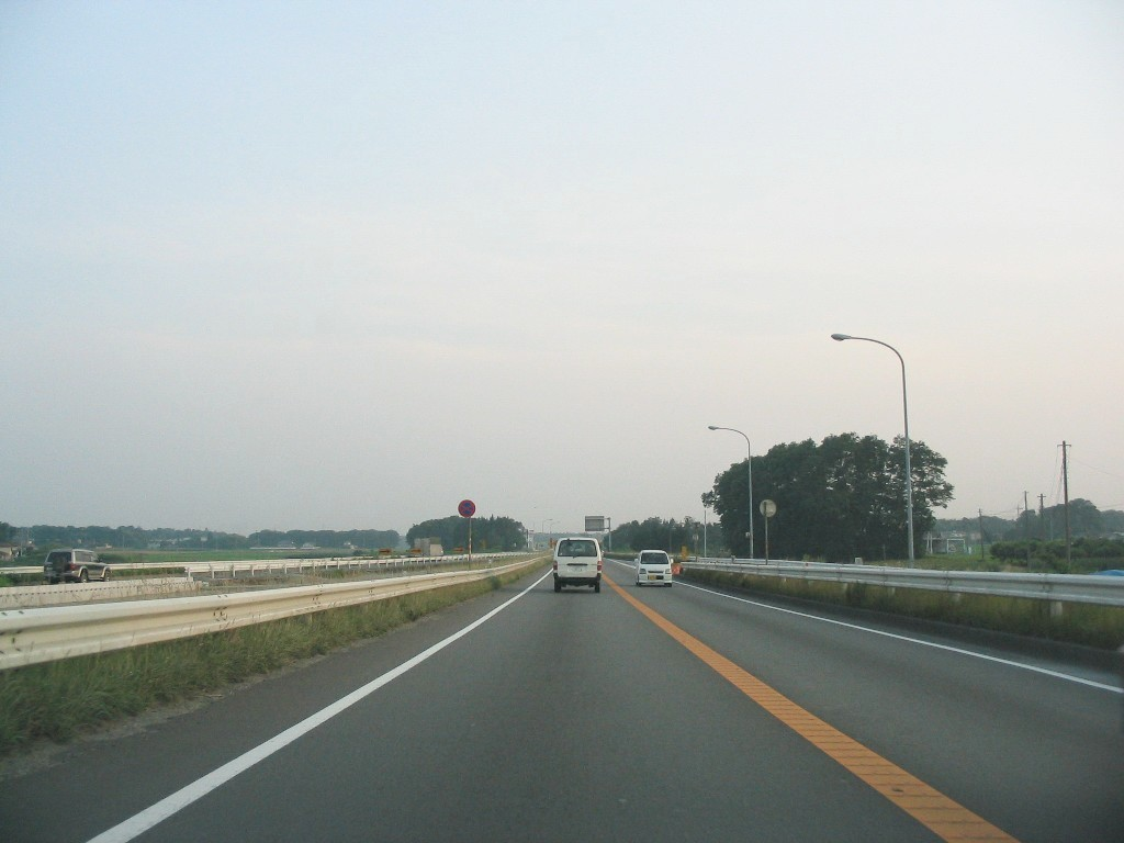 新4号国道暫定2車線時代