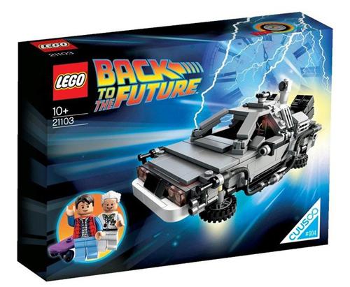 LEGO 21103 The DeLorean Time Machine