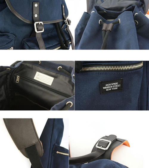 JACK SPADE Field Canvas Backpack