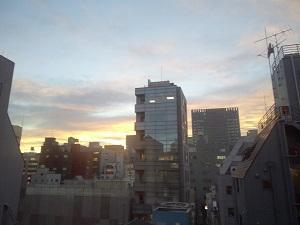 夕焼け20130403
