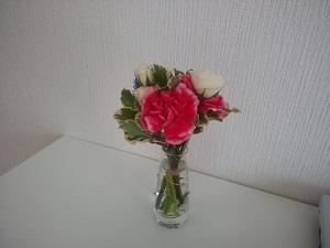 オフィスに花を
