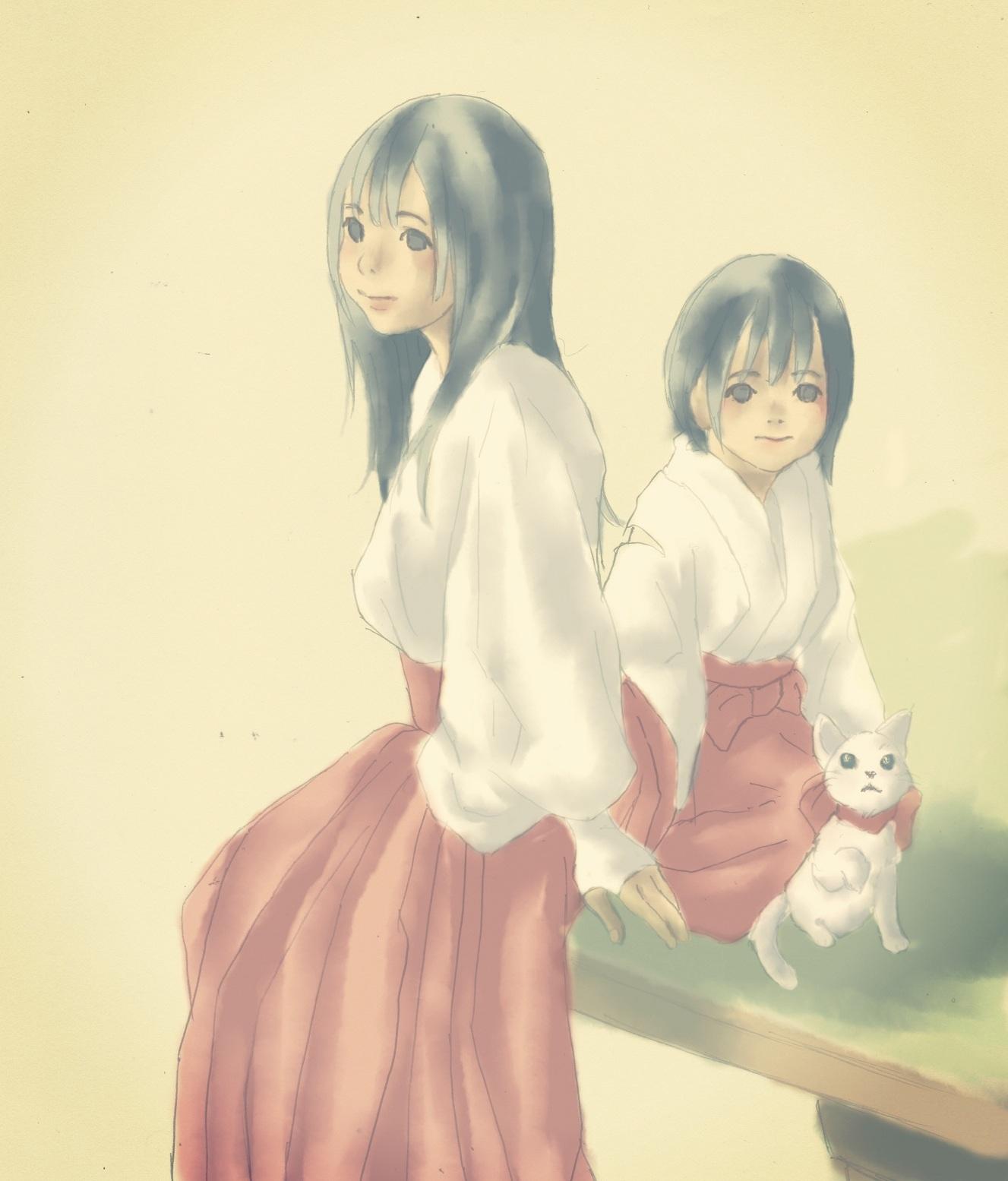 みこさん三姉妹