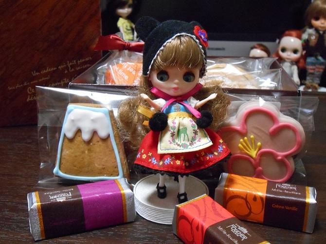 3 お菓子とスリちゃん