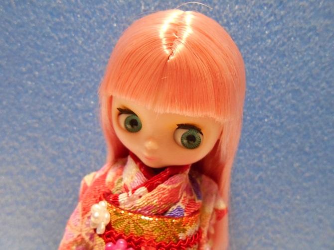 4 桜さんの着物姿