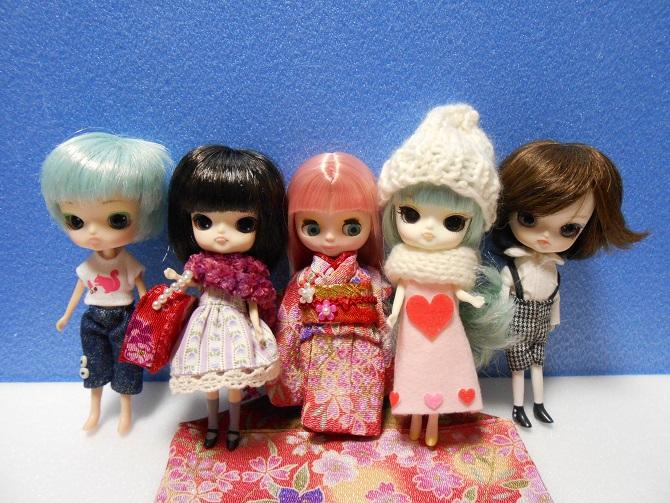 9 家の子と桜さん