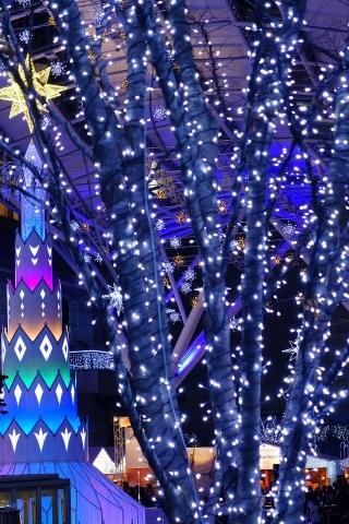 博多駅前イルミネーション