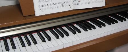 QP家の電子ピアノ