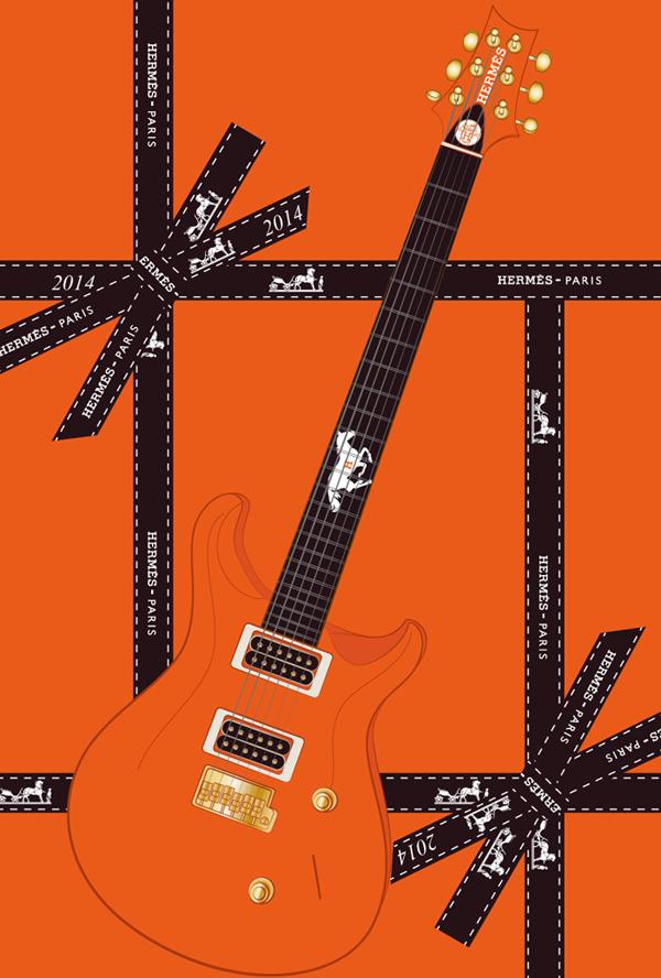 2014年午年エルメスギター