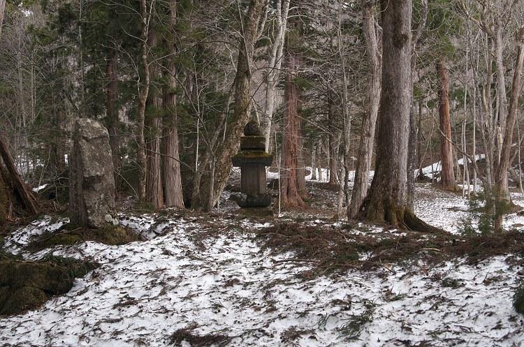 戸隠神社は雪景色 一
