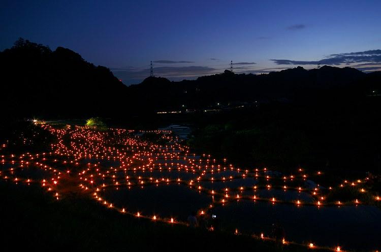 棚田であぜ道アート 2012 その7
