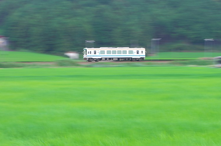 夏と緑とローカル線