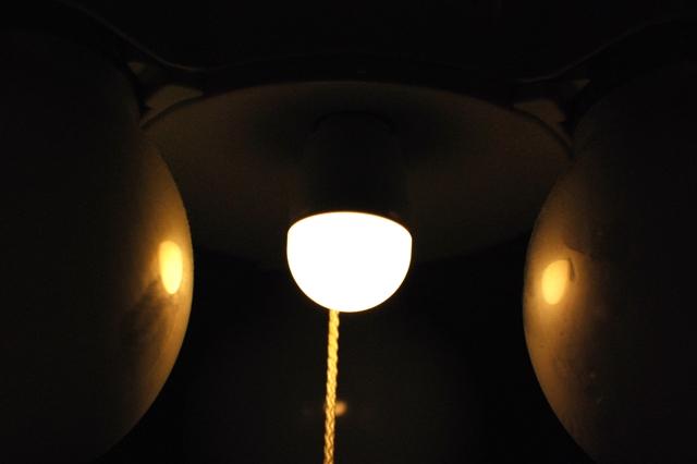 LEDナツメ球 LED小丸電球 LDT1LHE12 明るさ