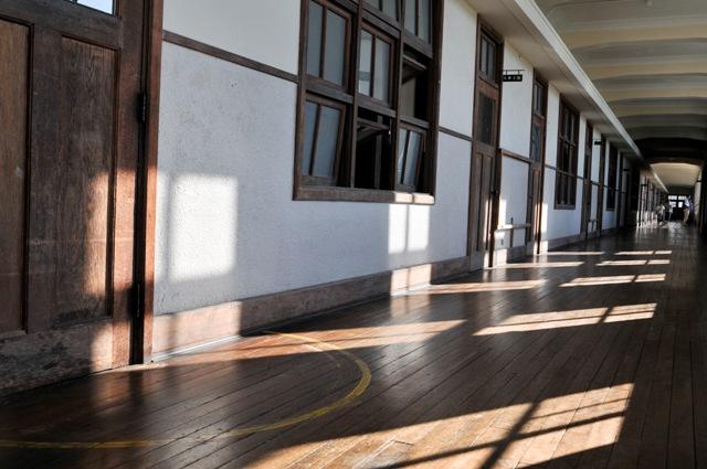豊郷小学校 旧校舎廊下