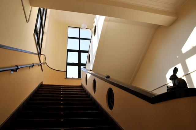 豊郷小学校 旧校舎 ウィリアム・メレル・ヴォーリズ階段