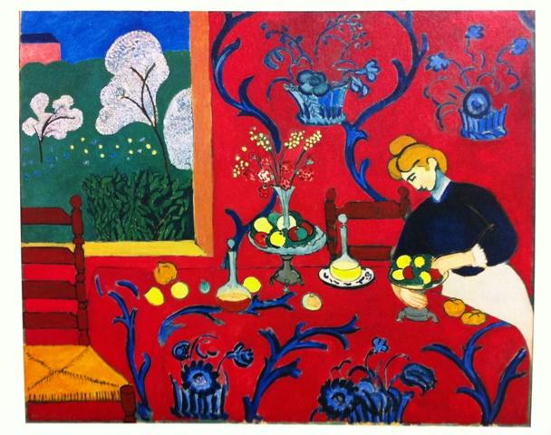 アンリ・マティス「赤い部屋」大エルミタージュ美術館展