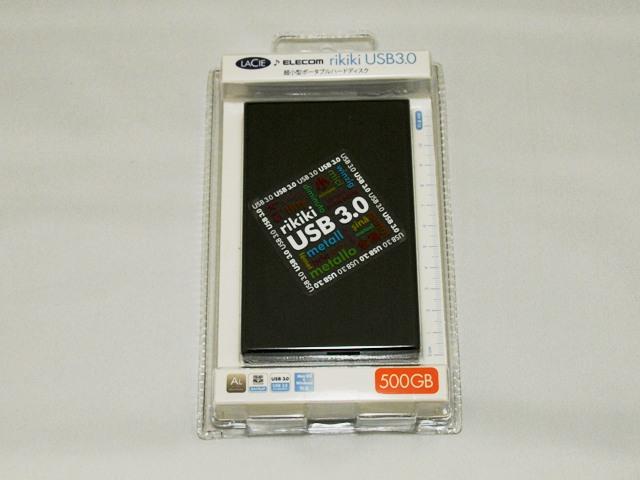 LaCie USB3.0/2.0対応 ポータブルHDD LCH-RK500U3S