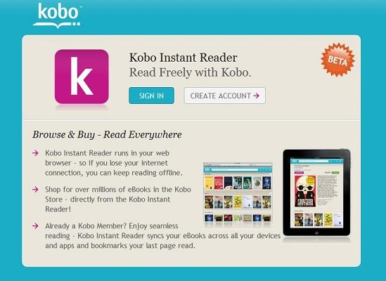 Kobo touch コボタッチ パソコンで読む方法